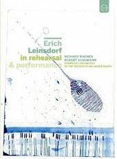 Erich Leinsdorf in Rehearsal & Performance - Wagner: Interludes from Parsifal; Schumann: Symphony No. 4 (four complete telecasts) [DVD]
