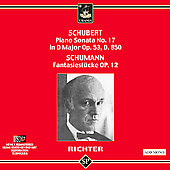 Schubert, Schumann: Piano Works / Richter