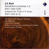 Bach J.s: Brandenburg Concertos Nos. 1 - 3, Concerto For Flute In E Minor Bwv. 1