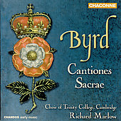 Byrd: Cantiones Sacrae / Marlow, et al