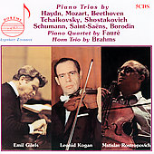 Legendary Treasures - Piano Trios / Gilels, Kogan, et al