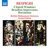 Respighi: Church Windows, etc / Falletta, et al