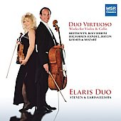 Duo Virtuoso - Mozart, Boccherini, Haydn, Beethoven, Halvorsen, Kodaly: Works for Violin & Cello / Steven and Larisa Elisha