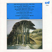 Walton: The First Shoot;  Tippett: Festal Brass;  Britten