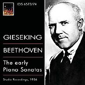 Beethoven: The early Piano Sonatas / Gieseking
