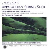 Copland: Appalachian Spring Suite, etc / Clark, Pacific SO