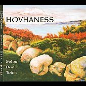 Hovhaness: Solos, Duos, Trios [DVD Audio]