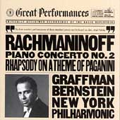 Rachmaninov: Piano Concerto no 2, etc / Graffman, Bernstein
