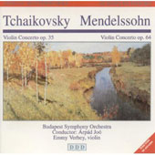 Tchaikovsky, Mendelssohn: Violin Concertos / Jo&#243;, Verhey