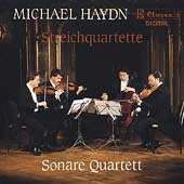 M. Haydn: String Quartets / Sonare Quartet