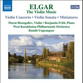 Elgar: The Violin Music / Bisengaliev, Frith, Bisengalieva, Ungrangsee
