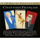 Various Artists: Chantons Francaises 1925-1944