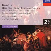 Kod&#225;ly: H&#225;ry J&#225;nos Suite, Dances of Gal&#225;nta, etc / Dorati