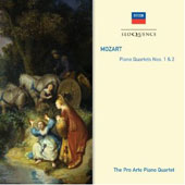 Mozart: Piano Quartets Nos. 1, K.478 and 2, K.493 / Pro Arte Quartet