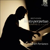 Beethoven: Moto perpetuo - Sonatas nos 12, 17, 22 & 27 / Javier Perianes, piano