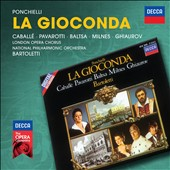 Ponchielli: La Gioconda / Caballe, Pavarotti, Baltsa, Milnes and Ghiaurov. Bartoletti