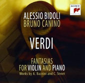 Verdi: Fantasias for Violin and Piano