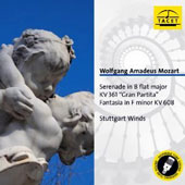 Mozart: Serenade in B flat major; Gran Partita; Fantasia in F minor / Stuttgart Winds