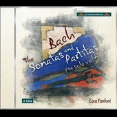 J.S. Bach: Sonatas and Partitas for Solo Violin / Luca Fanfoni, violin