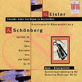 Eisler: Divertimento, etc;  Schoenberg / Danzi Quintet
