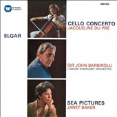 Elgar: Cello Concerto, Op. 85; Sea Pictures, Op. 37; Cockaigne (In London Town), Op. 40 / Jacqueline du Pré, cello; Janet Baker, mz; Barbirolli, Philharmonia Orch., London SO
