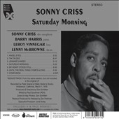 Sonny Criss: Saturday Morning