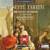 Tartini: Violin Concertos Vol 4 /Guglielmo, L'Arte dell'Arco