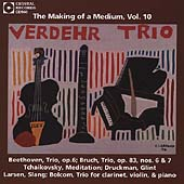 Making of a Medium Vol 10 - Beethoven, etc / Verdehr Trio