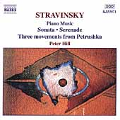 Stravinsky: Piano Music / Peter Hill
