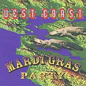 Various Artists: West Coast Mardi Gras Party