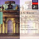 J.S. Bach: Art of the Fugue / M&#252;nchinger, Stuttgart CO