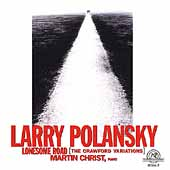 Polansky: Lonesome Road / Martin Christ