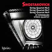 Shostakovich: String Quartets no 5, 7, 9 / St. Petersburg