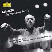 Mahler: Symphonie no 3 / Boulez, von Otter, Vienna PO, et al
