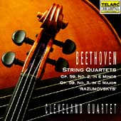 Classics - Beethoven: String Quartets Op 59 no 2-3