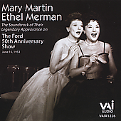 Mary Martin (Vocals/Actress): The Ford 50th Anniversary Television Show