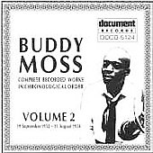 Buddy Moss: Complete Recordings, Vol. 2: 1933-1934