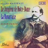Massenet: Le Jongleur de Notre-Dame, etc / Dervaux, et al
