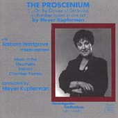 Kupferman: The Proscenium / Kupferman, Hardgrave