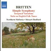 Britten: Simple Symphony, etc / Bedford, et al