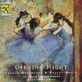 Opening Night - French Overtures & Ballet Music / Graham