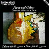 Music for Piano and Guitar / Debora Hal&#225;sz, Franz Hal&#225;sz