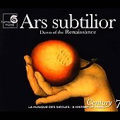 Ars subtilior / A History of Music Century Vol 7