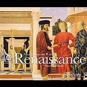 Renaissance Sacred Music / A History of Music Century Vol 8