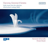 Ciacconas, Canzonas & Sonatas - Violin music from the collection 