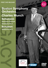 Schumann & Schubert / Charles Munch, Boston SO [DVD]