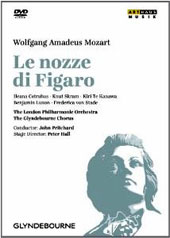 Mozart: The Marriage of Figaro / Skram, Cotrubas, Te Kanawa, Luxon, von Stade. John Pritchard, London PO [DVD]