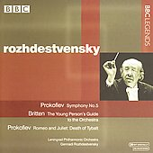 Prokofiev: Symphony no 5, etc;  Britten / Rozhdestvensky