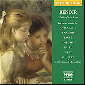 Art and Music - Renoir - Music of his Time