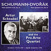 Schumann, Dvorak: Piano Quintets / Schnabel, et al